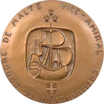 Ve République, hommage au Chevalier Paul (Paul de Saumure, Ordre de Malte), par Bisette-Lindet, 1984 Paris