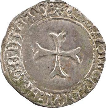 Bretagne (duché de), François Ier, blanc à la targe, s.d. Rennes