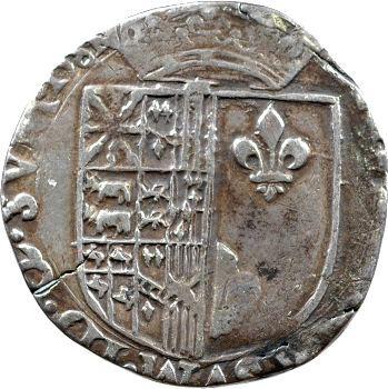 Navarre (royaume de), Henri III, franc, 1581 Saint-Palais