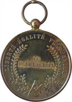 IIIe République (?), insigne de la loge l'Union Maçonnique, attribuée, s.d