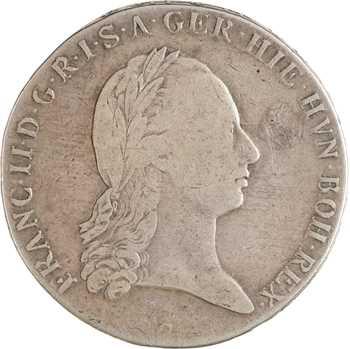 République tchèque, François II, kronenthaler, 1795 prague