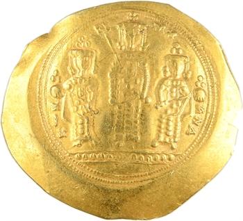 Romain IV et Eudoxia, histamenon nomisma (scyphate), Constantinople, 1068-1071