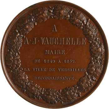 Second Empire, la ville de Versailles au maire Vauchelle, 1852 Paris