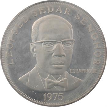 Sénégal, 150 francs, 25e anniversaire Eurafrique, 1975 Paris PROOF