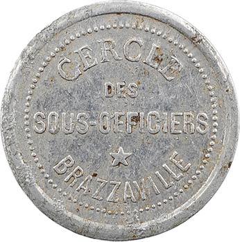 Congo, cercle des sous-officiers de Brazzaville, 1 franc, s.d