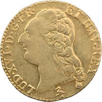 Louis XVI, louis d'or à la tête nue, 1787 Paris