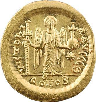Justin Ier, solidus, Constantinople, 9e officine, 518-527