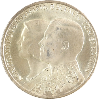 Grèce, Constantin II, 30 drachmes, 1964