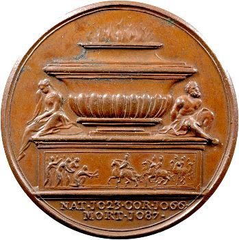 Angleterre, série des Rois par Jean Dassier, Guillaume Ier, s.d. (c.1731-1732)