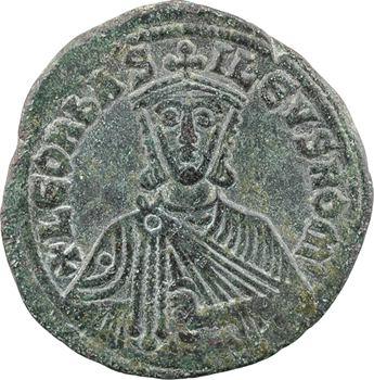 Léon VI, follis type 3, Constantinople, 886-912