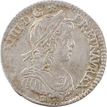 Louis XIV, douzième d'écu à la mèche longue, 1659 Limoges