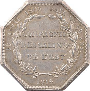 Louis XVIII, Compagnie des Salines de l'Est, 1814 Paris