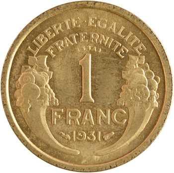IIIe République, essai de 1 franc Morlon, 1931 Paris