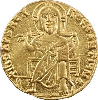 Basile Ier et Constantin, solidus, Constantinople, c.868-879