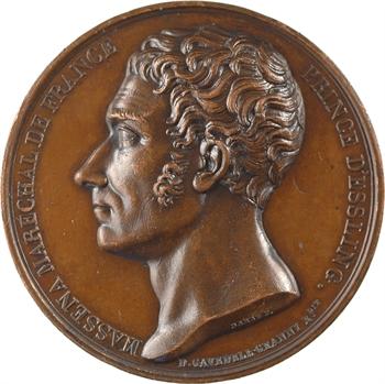Louis XVIII, le maréchal Masséna, par Barre, s.d. (c.1817) Paris