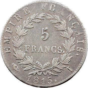 Cent-Jours, 5 francs Empire, 1815 Limoges