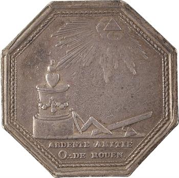 Orient de Rouen, l'Ardente amitié, s.d. (c.1812) Paris