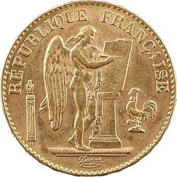IIIe République, 20 francs Génie, 1897 Paris