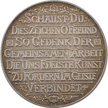 Allemagne, Hambourg, Grande loge maçonnique, 1899