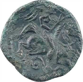 Carnutes, bronze PIXTILOS au cavalier, classe VII, c.40-30 av. J.-C