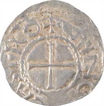 Touraine, Tours et Chinon, sous Robert Ier, denier, s.d. (c.920)