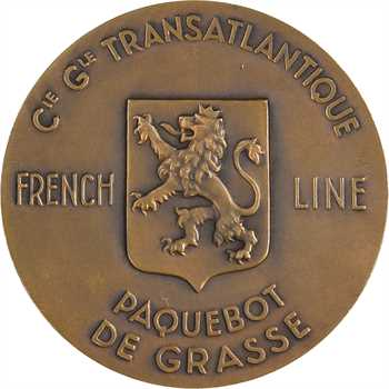 Delannoy (M.) : Compagnie Générale Transatlantique, Paquebot de Grasse (French line), s.d. Paris