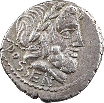 Rubria, denier, Rome, 87 av. J.-C.