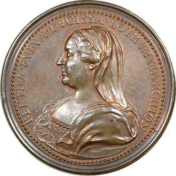 Lorraine : Mathieu Ier (1110-1176) et Berthe, par Saint-Urbain, s.d. Nancy