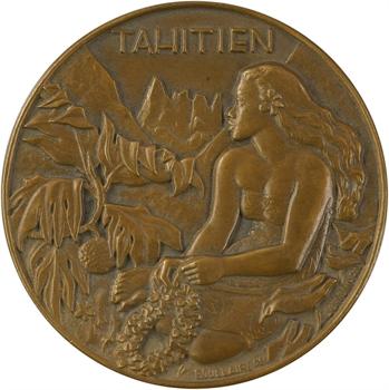 IVe République, les Messageries maritimes, Tahitien, 1953 Paris