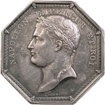 Premier Empire, Jeton Napoléon Empereur et Roi, s.d. Paris