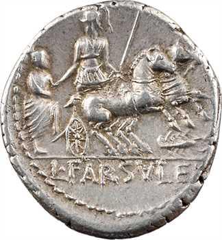 Farsuleia, denier, Rome, 75 av. J.-C.