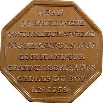 Ile-de-France, Jean de Boullongne, Grand Trésorier des Ordres du Roi, 1758