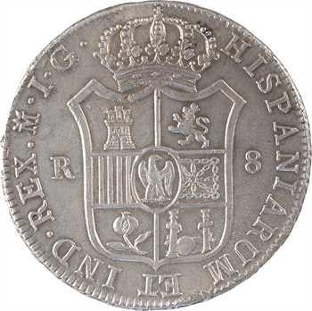 Espagne, Joseph Napoléon, 8 réaux, 1809 Madrid IG