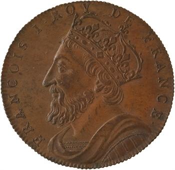 François Ier, Série des Rois de France, n° 58, s.d. Paris