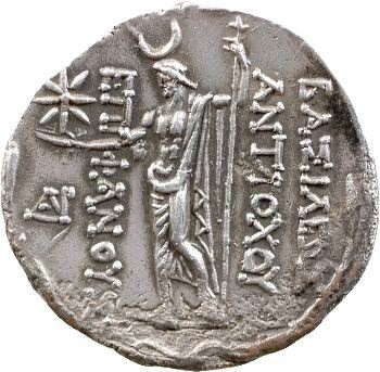 Syrie, Antiochos VIII, tétradrachme, Ptolémais, 121-96 av. J.-C.
