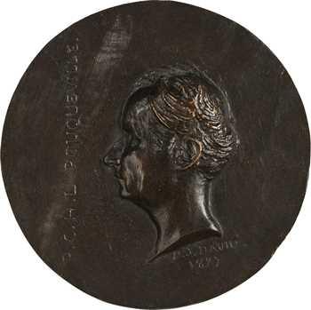 Charles X, François Pouqueville, fonte par David d'Angers, 1827 Paris