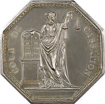 IIIe République, médaille de la Cour de cassation, 1835 (après 1880)