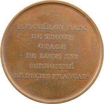 Pierre-Prosper Marc-Guélon, otage du Roi Louis XVI, par Masson, s.d. (c.1818) Paris
