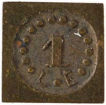 France, IIIe République, poids de 1 carat, s.d