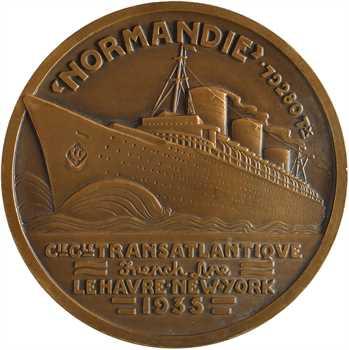 Vernon (J.) : Compagnie Générale Transatlantique (C.G.T.), le paquebot Normandie, 1935 Paris