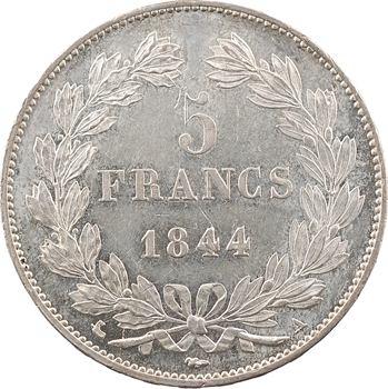 Louis-Philippe Ier, 5 francs IIIe type Domard, 1844 Paris