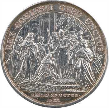 Louis XV, sacre à Reims le 25 octobre 1722, par Lorthior, 1722 [c.1770] Paris