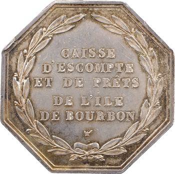 Réunion (Île de la), jeton de la Caisse d'escompte, s.d. (1824-1830)