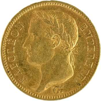 Premier Empire, 40 francs Empire, 1812 Paris