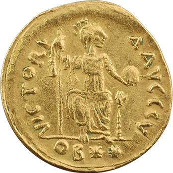 RETIRÉ – WITHDRAWN. Justin II, solidus de poids léger (22 siliques), Théoupolis (Antioche), 575-578