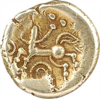 Trévires, statère d'or à l'œil, c.65-35 av. J.-C.