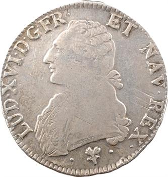 Louis XVI, écu aux branches d'olivier, 1787 Bayonne