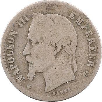 Second Empire, 50 centimes tête laurée, 1869 Strasbourg