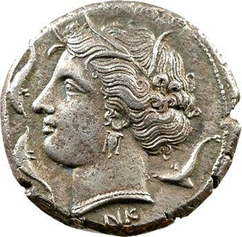 Sicile, règne d'Agathoklès, tétradrachme, Syracuse, c.310-305 av. J.-C.