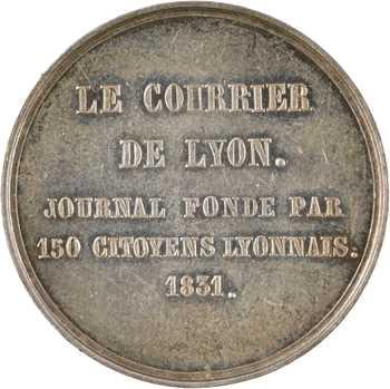Second Empire, le Courrier de Lyon, 1831 (post.) Paris